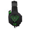 Picture of T-Dagger Rocky Green Lighting|210cm Cable|USB|Omni-Directional Luminous Snub Mic|40mm Bass Driver|Stereo Gaming Headset - Black/Green
