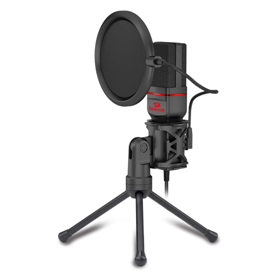 Picture of Redragon 3.5mm Aux Gaming Mic and Tripod - Black