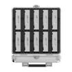 Picture of Orico 10 Bay 3.5 Hard Drive Protector Box Aluminium