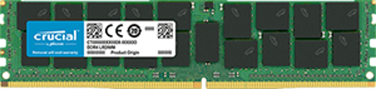 Picture of Crucial 64GB DDR4 2666MHz Quad Rank Load Reduced Dimm