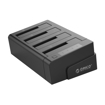 Picture of Orico 4 Bay USB3.0 to 2.5 / 3.5 HDD SSD Clone Dock Black