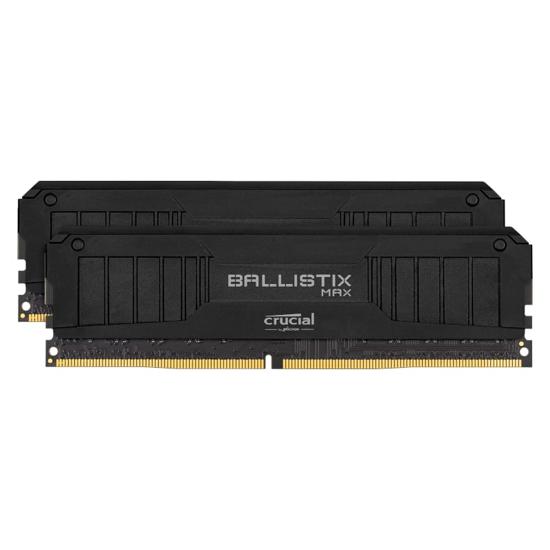 Picture of Ballistix Max 16GBkit (2x8GB) DDR4 4400MHz Desktop Gaming Memory - Black
