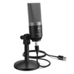 Picture of Fifine K670B Cardioid USB Condensor Microphone with Stand - Black