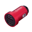 Picture of Orico Dual Port Mini USB Car Charger - Red