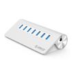 Picture of Orico 7 Port USB3.0 Hub Aluminium - Silver