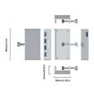 Picture of Orico 4 Port USB3.0 Clip-Type Hub Aluminium