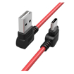 Picture of Orico Type-A to USB-C ChargeSync 1m Cable - Red