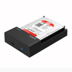 Picture of Orico 1 Bay USB3.0 2.5 / 3.5 HDD|SSD Horizontal Dock - Black