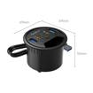 Picture of Orico Desktop Power Grommet Multi Function Hub 2xUSB3.0|1xTypeC|2xAudio - Black