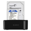 Picture of Orico 1 Bay USB3.0 2.5 / 3.5 HDD|SSD Vertical Dock - Black