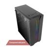 Picture of Antec NX110 ARGB Tempered Glass Side (GPU 350mm) ATX|Micro ATX|Mini ITX Gaming Chassis - Black