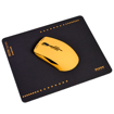 Picture of Port Connect NEON Wireless Mouse with Mousepad - Orange