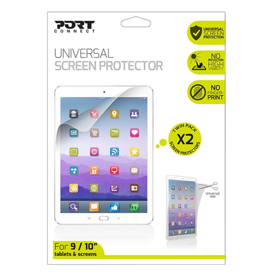 Picture of Port Connect Universal Screen Protector 9/10 for Tablets and Screens