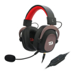 Picture of Redragon Zeus 2 USB|Virtual 7.1|2m Cable|3.5mm Detachable Omnidirectional Boom Mic|53mm Driver|Gaming Headset - Black