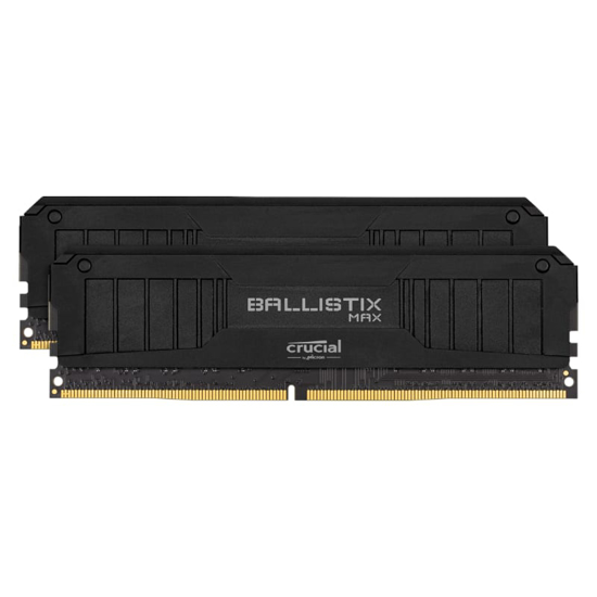 Picture of Ballistix Max 16GBkit (2x8GB) DDR4 5100MHz Desktop Gaming Memory