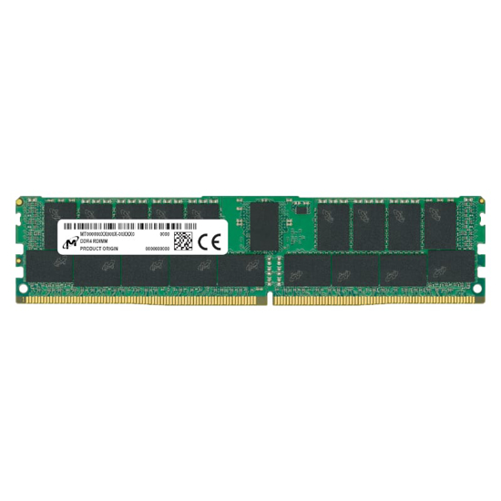 Picture of Micron 64GB DDR4 2933MHz Dual Rank Registered Dimm