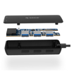 Picture of Orico 3 Port USB3.0 Hub With TF and SD Card Reader - Black