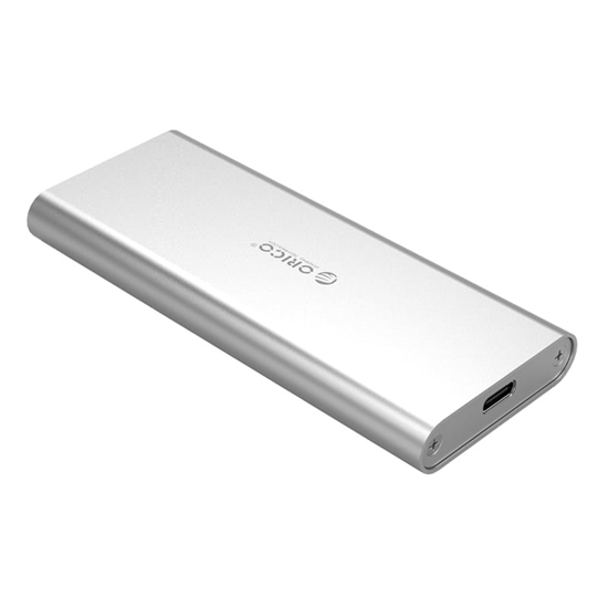 Picture of Orico M.2(2230/2242/2260/2280) to USB3.1(Device Input) Gen-2 Type-C(Enclosure Side) SSD Enclosure (2TB Max) - Aluminium (Compatible with CTA2-SV/CTA2-GR)