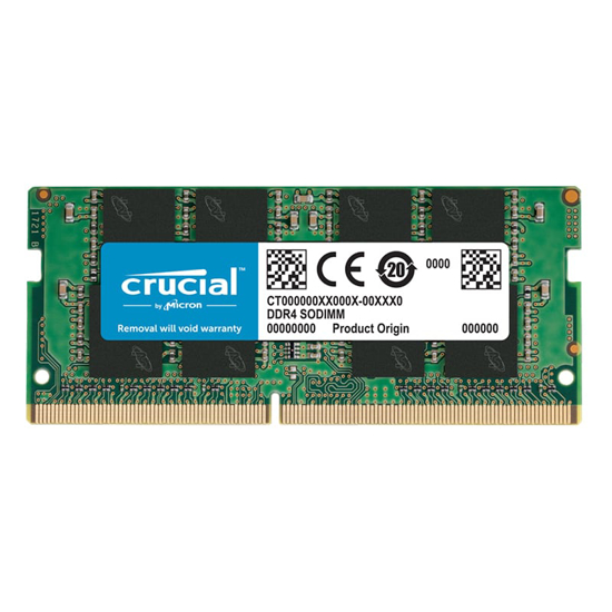 Picture of CRUCIAL DDR4 SODIMM 2666 8GB SR