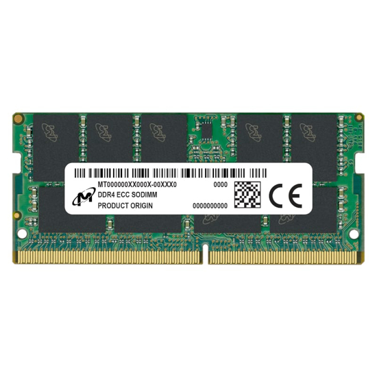 Picture of Micron 16GB DDR4 2666MHz ECC SO Dimm