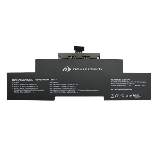 Picture of Newertech 95W Replacement Battery for 15 Macbook Pro with Retina with Retina Display (Late 2013-2015)