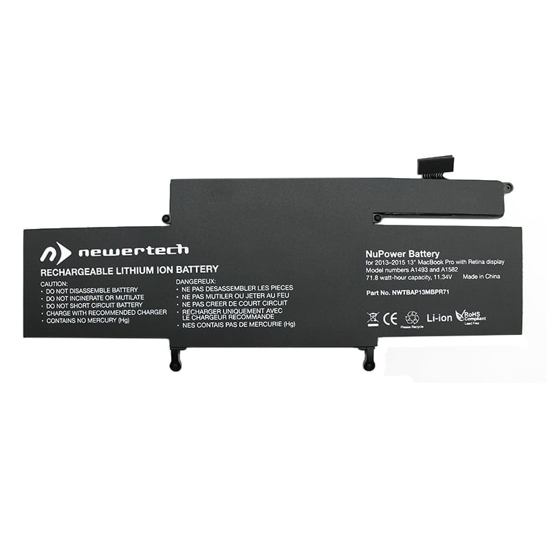 Picture of Newertech 71W Replacement Battery for 13 Macbook Pro with Retina Display (Late 2013-2015)