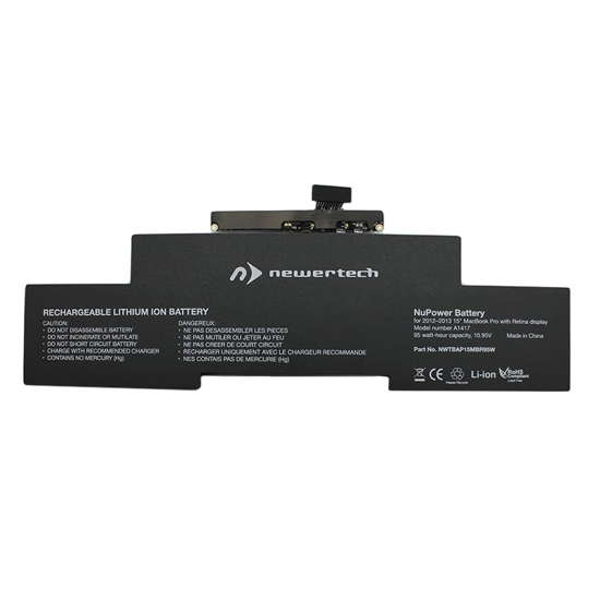 Picture of Newertech 95W Replacement Battery for 15 Macbook Pro with Retina Display (Mid 2012-Early 2013)
