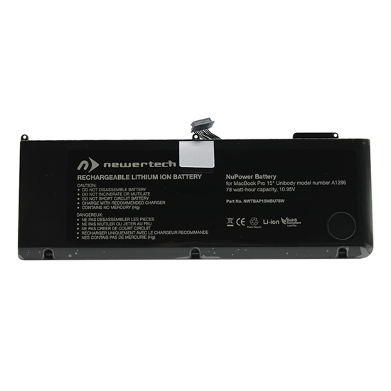 Picture of Newertech 77.5W Replacement Battery for 15 Macbook Pro (Early 2011-Mid 2012)