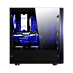 Picture of Redragon SIDESWIPE 4xRGB LED Tempered Glass Side/Front ATX Gaming Chassis Black