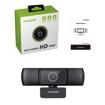 Picture of Ausdom AF640 1080p FHD Wide Angle Desktop Webcam - Black