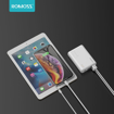 Picture of Romoss Simple 10 10000mAh Input: Type C|Lightning|Micro USB|Output: 2 x USB Power Bank - White