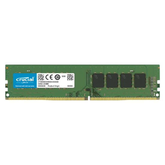 Picture of Crucial 8GB DDR4 3200MHz Desktop Memory