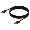 Picture of Sparkfox PlayStation 5 Braided USB Type-C to Type-C Charge and Play Cable - Black