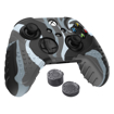 Picture of Sparkfox Xbox Series X Silicone FPS Grip Pack Skin and Thumb Caps - Camo Grey