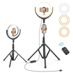 Picture of Taotronics TT-CL026 10 Selfie Ring Light with 3 colour modes - Black